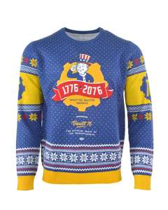 Official Fallout 76 Christmas Jumper / Ugly Sweater Large & XS Size £9.99 @ Geekstore