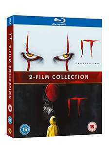 IT & IT 2 (Two Film Collection Blu-ray £9.99 + £2.99 Non Prime @ Amazon