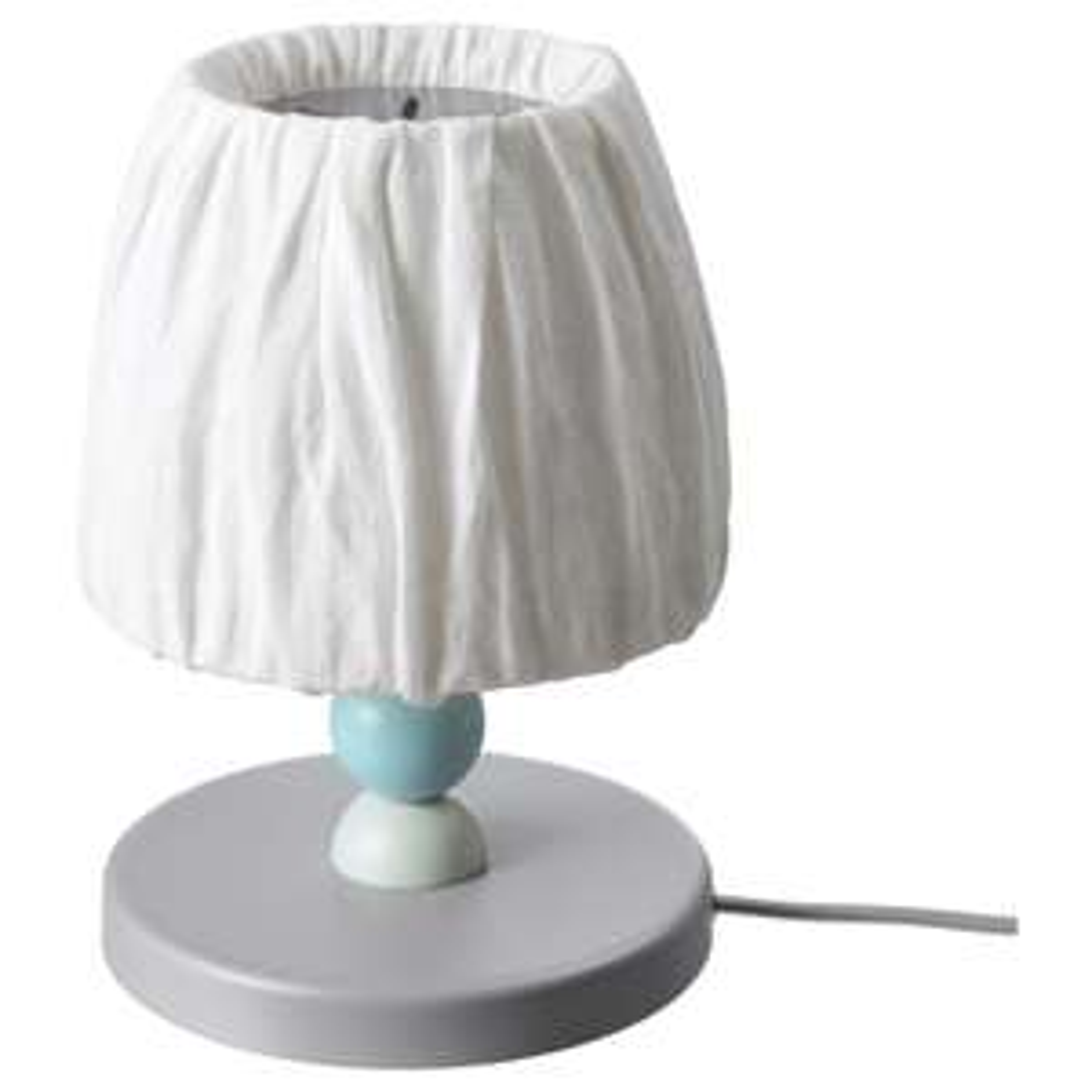LANTLIG children's LED table lamp, grey for £15 in-store @Ikea