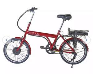 E-Plus Red Mantra 20 inch Wheel Size Unisex Electric Bike £299.99 (£6.95 delivery) @ Argos