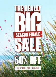 Matalan Up to 50% Off big summer sale