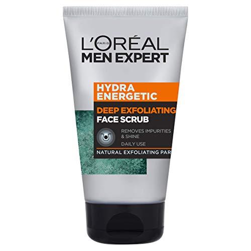 L'Oréal Men Expert Face Scrub, Hydra Energetic Deep Exfoliating Face Wash 100ml- £2.49 Prime (£2.37 S&S / +£4.49 Non Prime) @ Amazon
