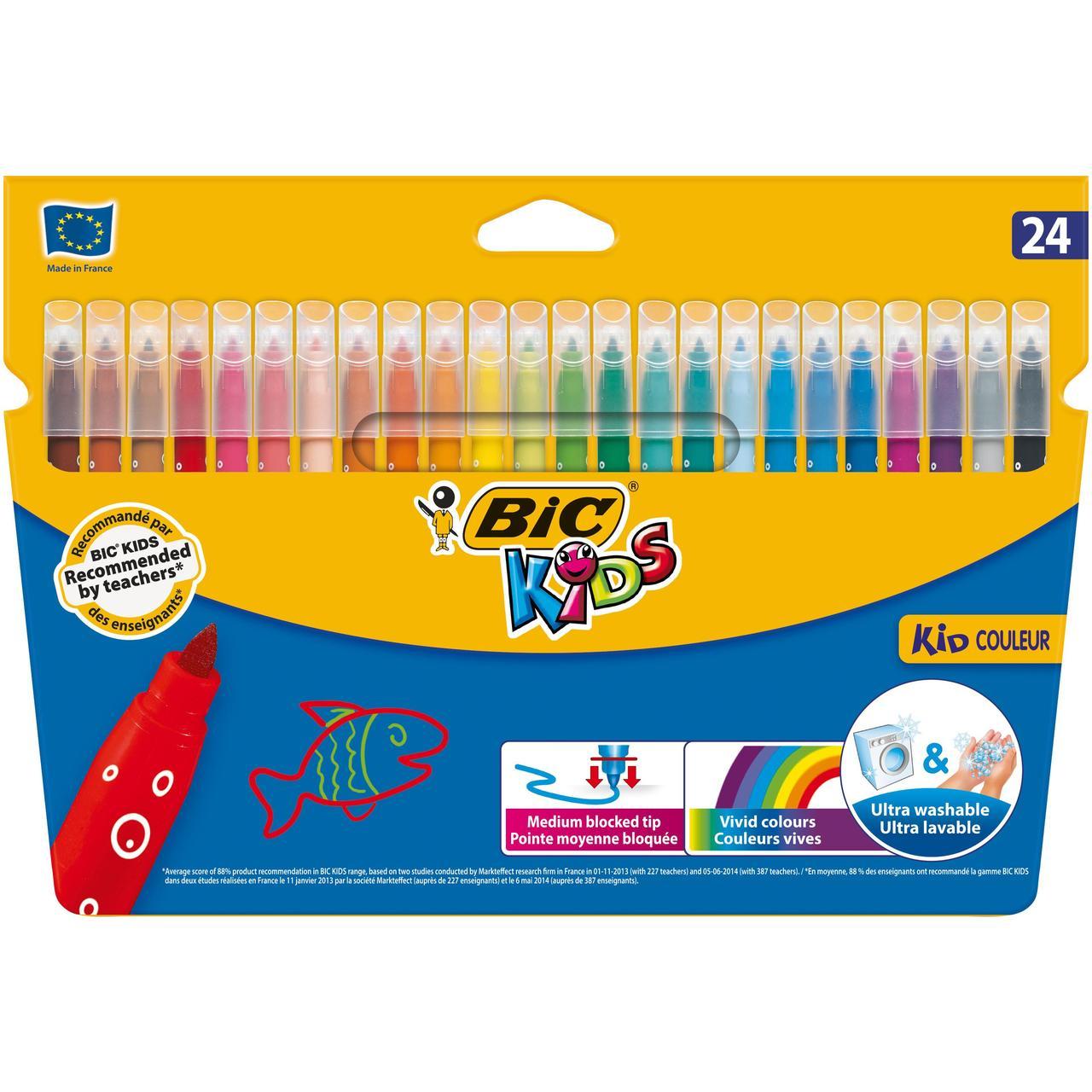Bic Kids Felt Tip Pens 24 pack - £2.50 @ Morrisons