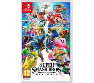 Super Smash Bros for switch - £42.99 using code @ Currys PC World