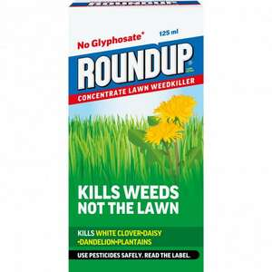 Round up weed killer concentrate 125ml £2 @ Morrisons (Leyland)