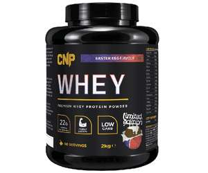£26.10 2kg CNP Pro Whey Protein (iso/whey blend) £29.09 delivered @ Cardiffsportsnutrition