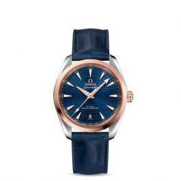 OMEGA Seamaster Aqua Terra Blue / Rose gold 38mm Automatic Men's Watch - £4,045.50 using code at Hugh Rice