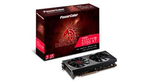 PowerColor Radeon RX 5700 XT Red Dragon 8GB Overclocked Graphics Card *Open Box* - £333.60 from CCL Online