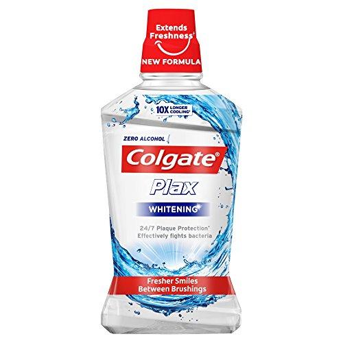 Colgate Plax Whitening Mouthwash 500ml, £1.65 /+£4.49 non prime at Amazon