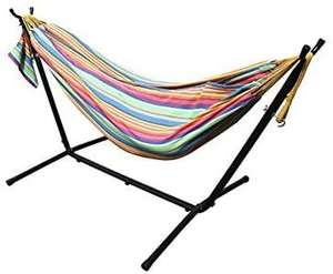 All Seasons Gazebos Ross James Garden Furniture, 100% Double Cotton Hammock various colours £99.99 @ Amazon