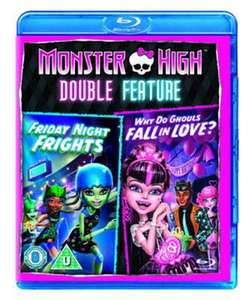 Monster high Friday night frights/why do ghouls fall in love blu ray - £2.69 delivered @ Music Magpie