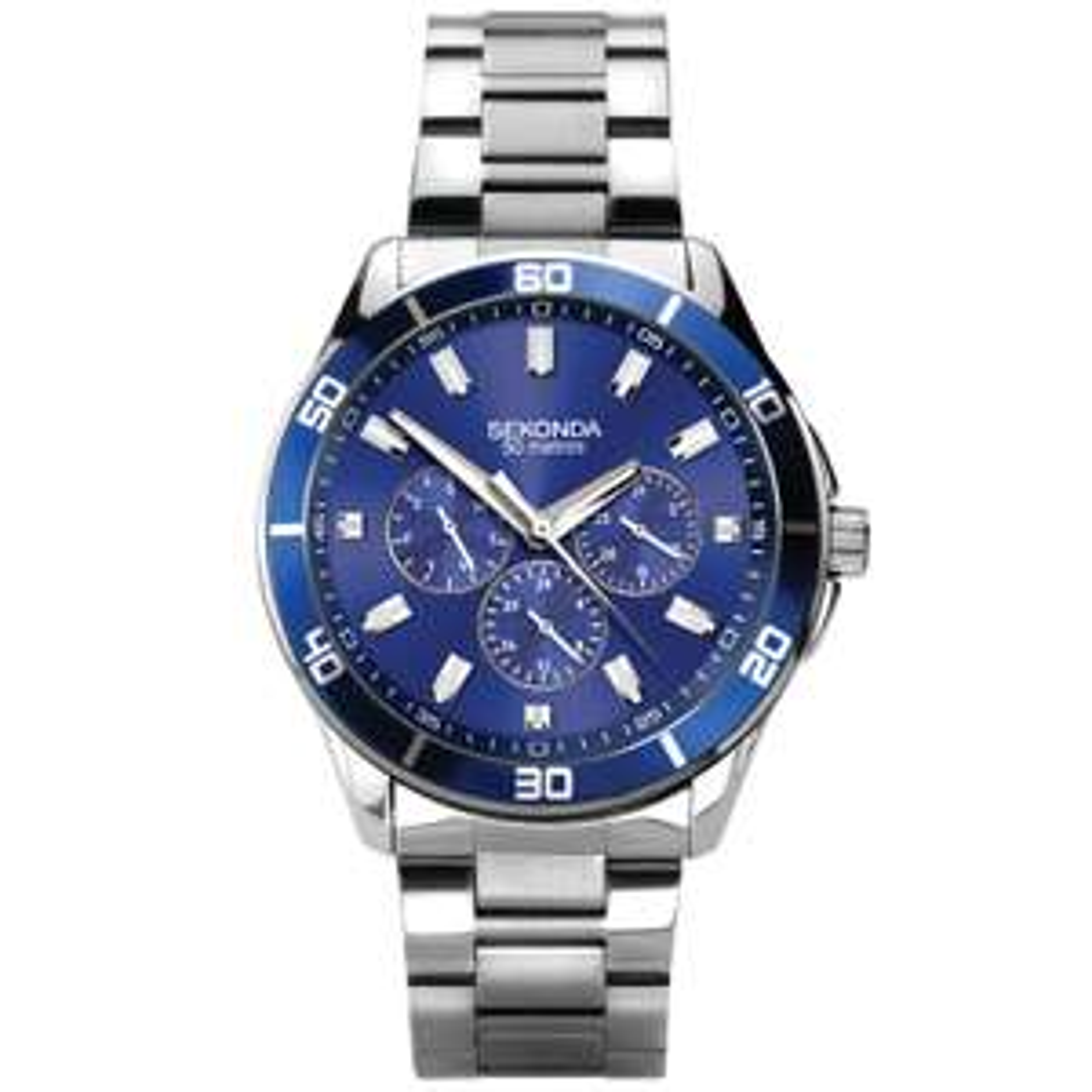 Sekonda Men's Stainless Steel Bracelet Watch - £27.99 with code at H.Samuel