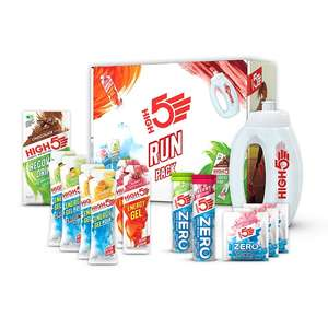 High 5 packs 33-50% off - Run pack incl bottle £9.99 Starter pack incl bottle £5.99 + free del at Holland and Barrett
