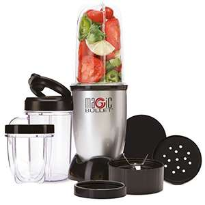 NUTRiBULLET Magic Bullet Blender, Mixer & Food Processor, 11 piece set - £34.99 at Amazon
