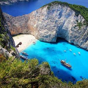 Return flights from London Luton to Zante & Rhodes for just £17.98 at WizzAir