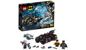 LEGO DC Batman Mr. Freeze Batcycle Battle Toy Bike 76118 - £13 at Argos + free Click and Collect