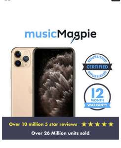 iPhone 11 Pro Gold 64GB - Pristine - £743.84 delivered using code @ Music Magpie / eBay