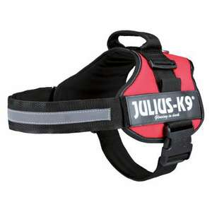 JULIUS-K9® Power Harness - Red mini at Zooplus for £21.98