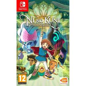 Ni No Kuni Wrath of the White Witch Nintendo Switch £26.95 at The Game Collection