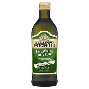 Filippo Berio Extra Virgin Olive Oil 750ml - £3.50 Asda