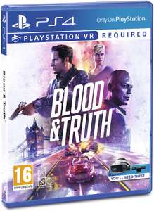 Blood and truth PS4 VR @ Curry's PC World - Llanelli - £4.97