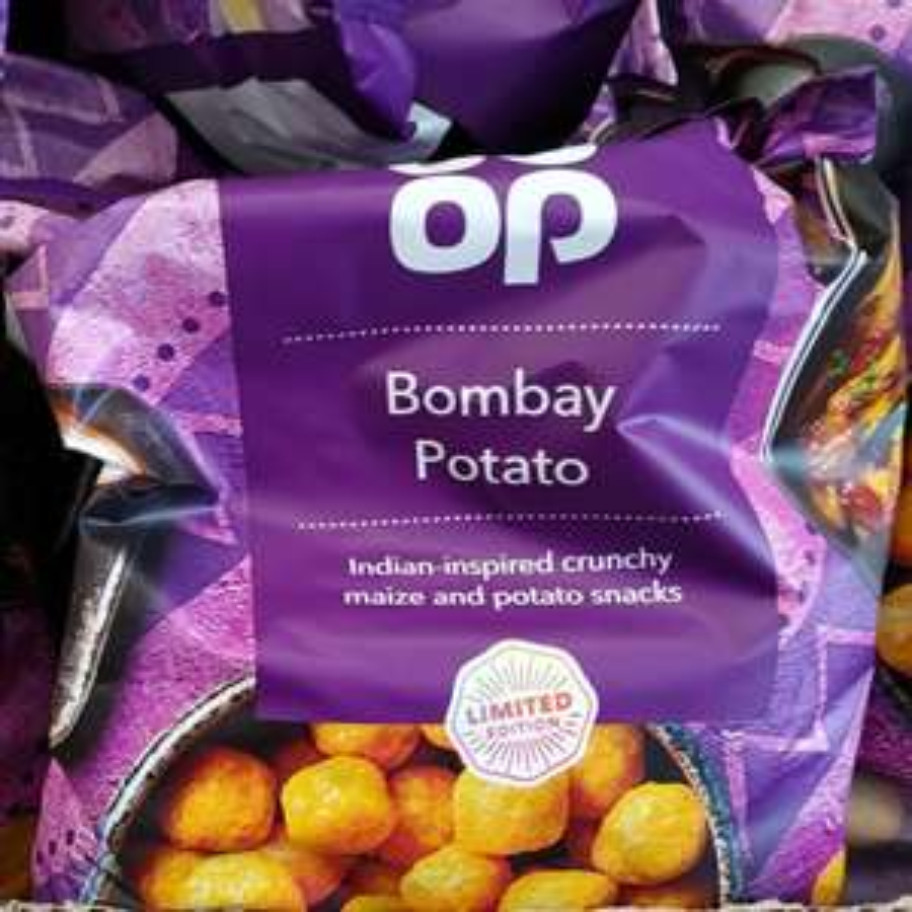 3 x Coop Bombay Potato 150g potato snack bags - £1 @ Fulton Foods