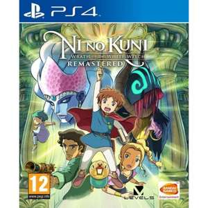 Ni No Kuni: Wrath of the White Witch Remastered (PS4) for £15.95 @ The Game Collection