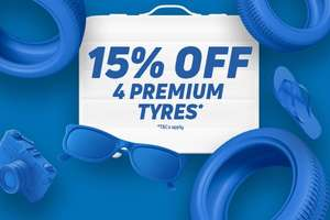 4 Goodyear F1 tyres 205/45/17 fitted with 15% - £351.20 @ Kwik Fit