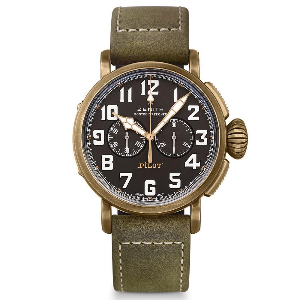 Zenith Pilot Bronze Extra Special 45mm Watch 29.2430.4069/21.C800 £3835 @ Rox