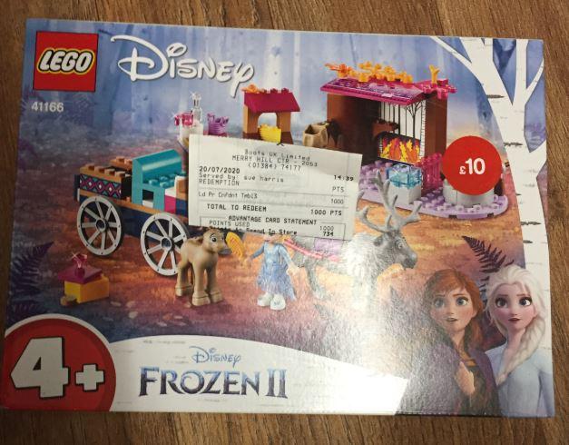 Lego set for £10 in Boots Shop Merry Hill - E.G LEGO 41166 Disney Frozen II Elsa's Wagon Adventure