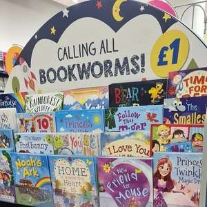Card factory £1 Childrens Books In Teignmouth store