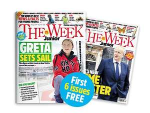 Try 6 issues of The Week Junior for FREE - for children aged 8–14
