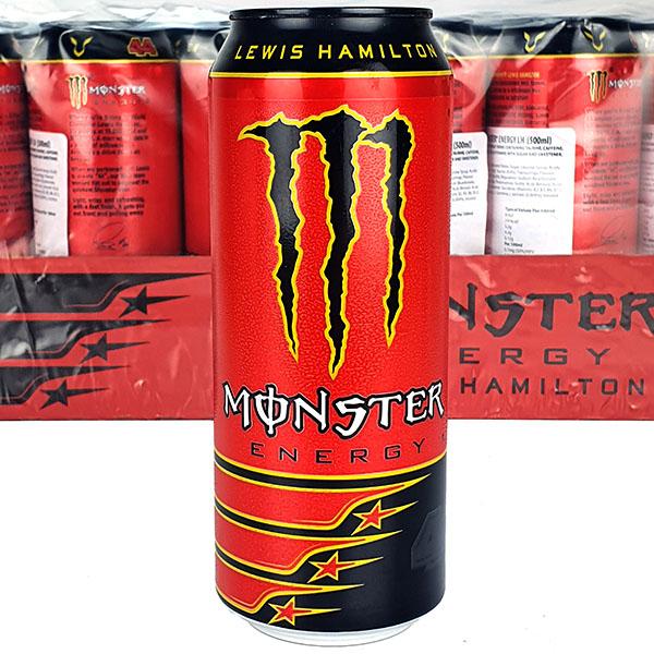 24 X Monster Lewis Hamilton Energy 500ML Cans - £20 @ Yankee Bundles