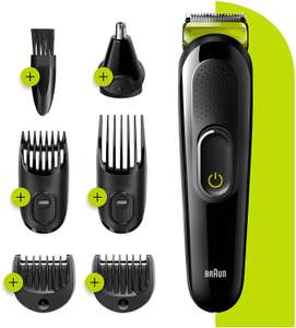 Braun 6-in-1 All-in-one Trimmer 3 MGK3221 Beard Trimmer for Men NOW £19.99 (Prime) + £4.49 (non Prime) at Amazon