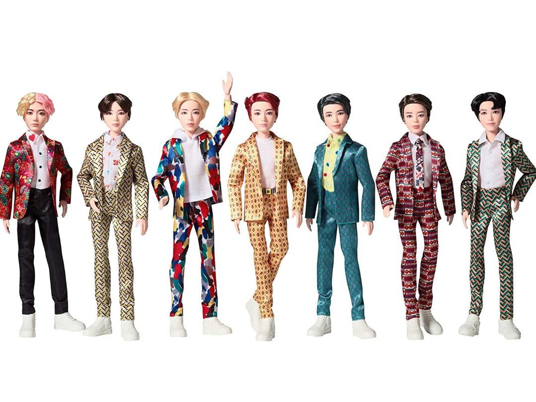 Mattel BTS Idol 11 inch Dolls Now £4 In store & online @ The Entertainer