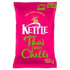 Kettle Chips Thai Sweet Chilli 150G 99p @ Tesco