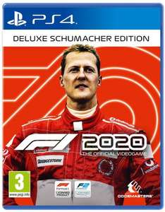 F1 2020 PS4 - Deluxe Schumacher Edition £58.50 at Coolshop