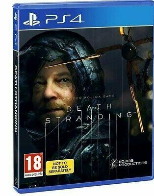 [PS4] Death Stranding (Bundle / Import Copy) - £18.99 delivered @ evergameuk / eBay