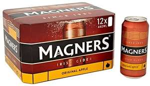 Magners Cider X18 Pack 440ml Cans £12 instore at Morrisons