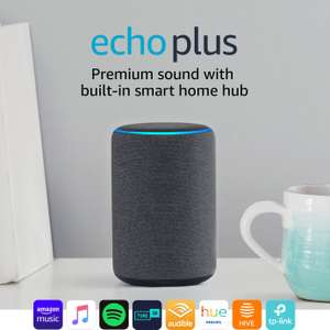 Amazon Echo Plus (Black, White or Heather) 2nd gen - £64.99 @ Argos (free click and collect)