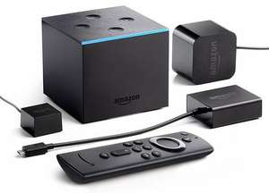 Fire TV Cube (2019) 4K Ultra HD Streaming Media Player £89.99 @ Argos (free collection)