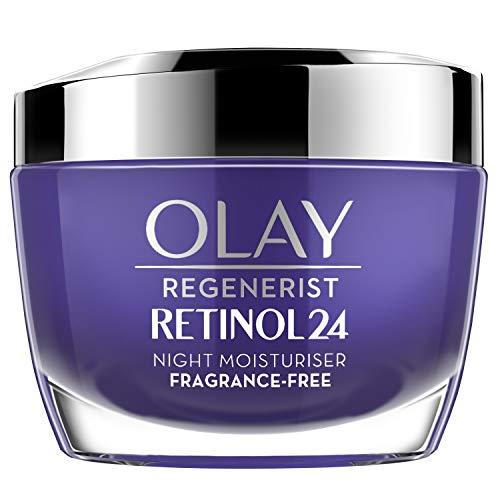 OLAY Night Face Cream Moisturiser With Retinol & Vitamin B3 50 ml - £17 (Prime) £21.49 (Non Prime) @ Amazon