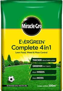 Evergreen complete lawn care 200sqm plus other lawn care £5.99 @ Worcester Garden Centre - Blue Diamond Garden Centres
