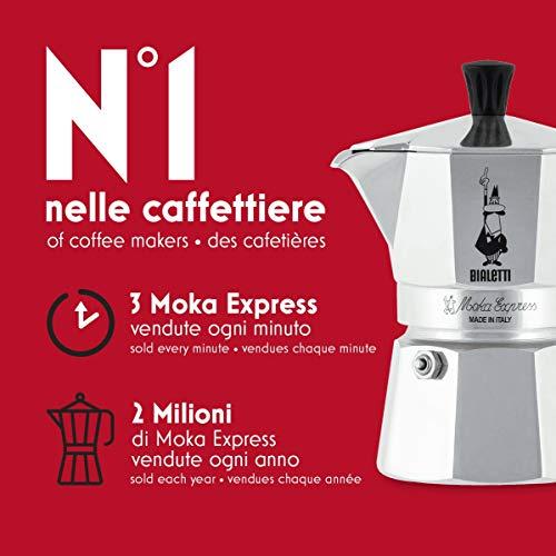 Bialetti Moka Express Aluminium Stovetop Coffee Maker (1 Cup). £14.99 (Prime) £19.48 (Non Prime) @ Amazon