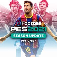 eFootball PES 2021 Season Update [PS4] Pre-Order @ PlayStation PSN Turkey - £15.41