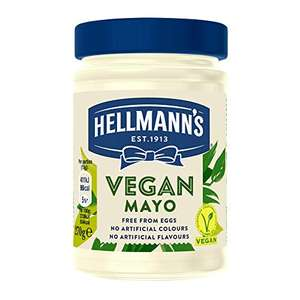 Hellmann's Vegan Mayonnaise 270gm for £1.46 (+£4.49 NP) Delivered @ Amazon