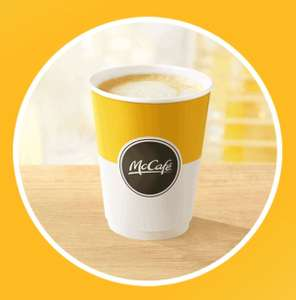 FREE McDonald's Hot Drink For 'New' Users of MyMcDonalds App