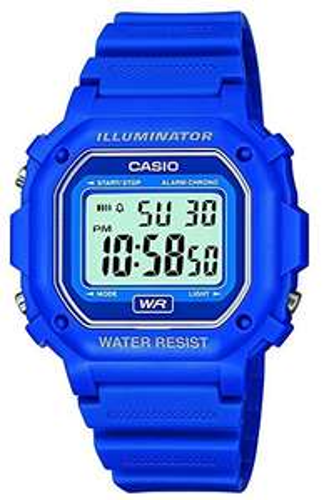 CASIO Men's Digital Quartz Watch with Resin Strap F-108WH-2AEF £9.99 (Prime) + £4.49 (non Prime) at Amazon