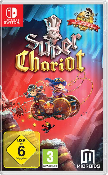 [Nintendo Switch] Super Chariot - £1.34 @ Nintendo eShop (£1.16 SA)