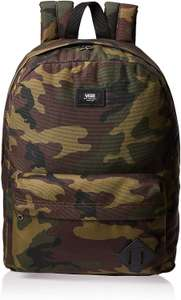 Vans Old Skool III Backpack Classic CAMO £12 (Prime) / £16.49 (non Prime) at Amazon